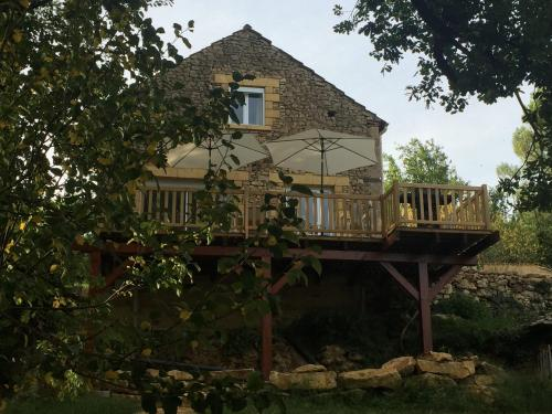 Au Coeur De Lolhm : Guest accommodation near Lalinde