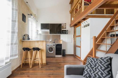 Le Malleret : Apartment near Le Bouscat