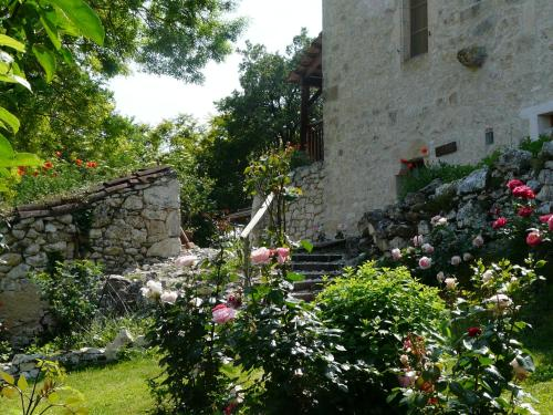Le Mas Des Papillons B&B : Bed and Breakfast near Saint-Laurent-Lolmie