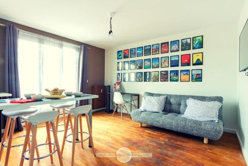 Le Gustave Topdestination-Dijon : Apartment near Brochon