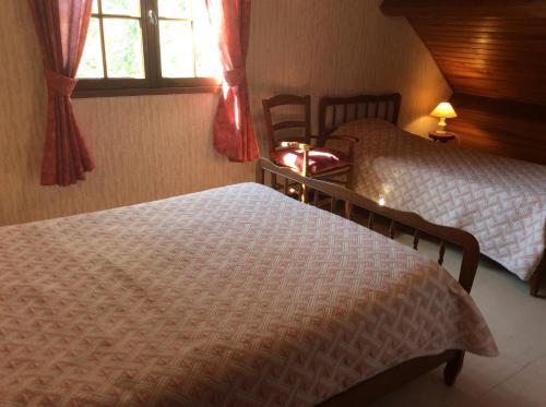 Chambre d'hôtes de l'Etang : Guest accommodation near Cros
