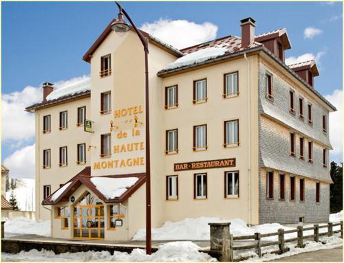 Hotel de la Haute Montagne : Hotel near Choux