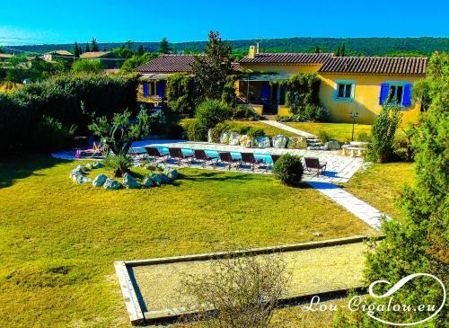 Lou-Cigalou : Guest accommodation near Lioux