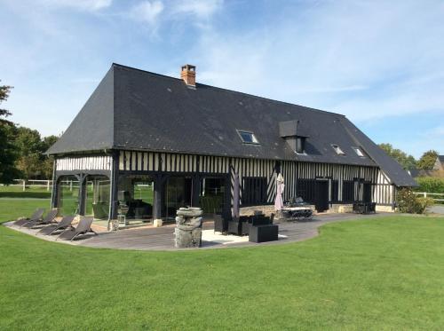 Clos du Vieux Chemin de Honfleur : Guest accommodation near Fatouville-Grestain