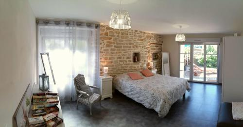 Gite de l'Olivier - Jura Lons-le-Saunier : Guest accommodation near Courbouzon