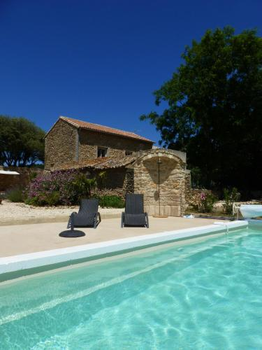 mas de costebelle : Bed and Breakfast near Lamotte-du-Rhône