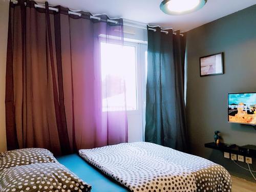 Studio terrassé à côté tram : Apartment near Champ-sur-Drac