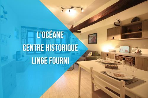 L'océane : Appartement au cœur de Vannes : Apartment near Theix