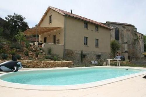Holiday home F-46300 : Guest accommodation near Léobard