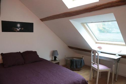 La Poussiniere : Guest accommodation near Villeneuve-sur-Auvers