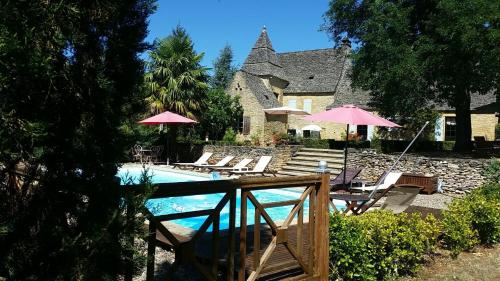 manoir du Rieu : Guest accommodation near Archignac