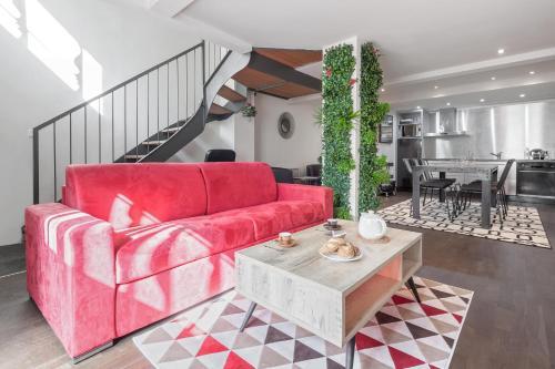 ClubLord - Splendid Duplex in the city center : Apartment near Lyon 1er Arrondissement