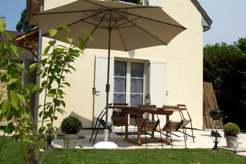 Gite Proche Disneyland Villages nature Paris : Guest accommodation near Villeneuve-Saint-Denis
