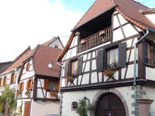 Gîte Pinot : Apartment near Beblenheim