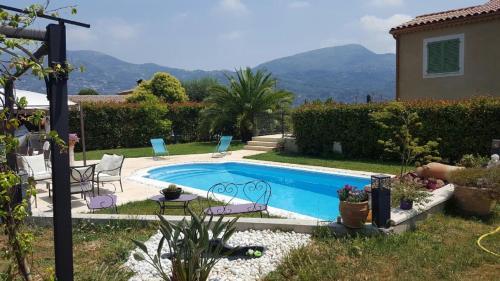 Coin Azur des amoureux : Apartment near Carros