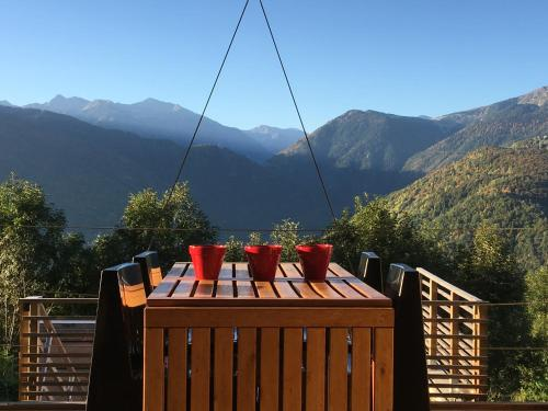Les Gardeilles : Bed and Breakfast near Montaillou