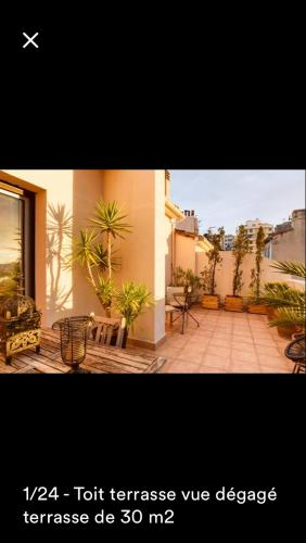 Toit terrasse centre : Apartment near Marseille