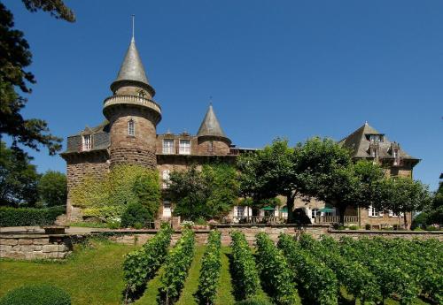 Hôtel Château de Castel Novel - Les Collectionneurs : Hotel near Yssandon