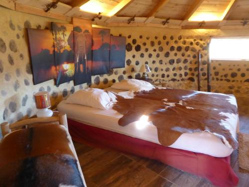 Case-Eco (case africaine grand confort) : Guest accommodation near Châteauvieux