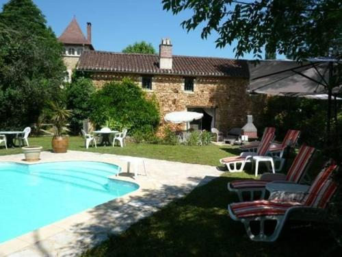 Domaine du Bouysset : Guest accommodation near Touzac