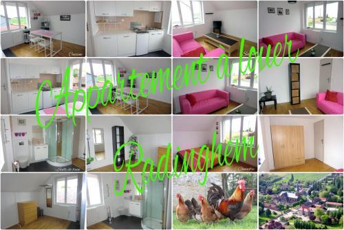 Appartement Calme Et Lumineux : Apartment near Prémesques