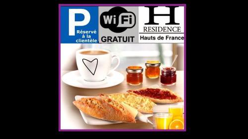 Résidence Les Hauts de France : Apartment near Fresnicourt-le-Dolmen