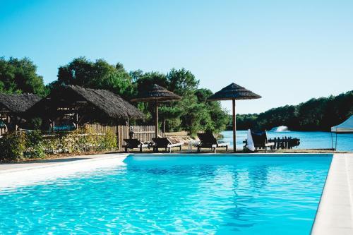 Villa Domaine de Pitrot : Guest accommodation near Saumos