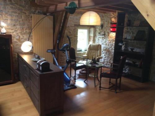 House Lamagdelaine - 2 pers, 140 m2, 2/1 : Guest accommodation near Saint-Géry