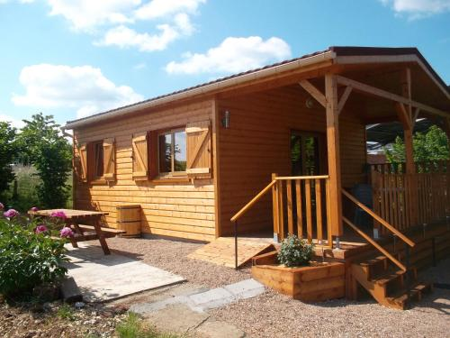 Chalet la Noisetiere Armalou : Guest accommodation near Alligny-Cosne