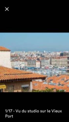 Grand studio vieux port : Apartment near Marseille 7e Arrondissement