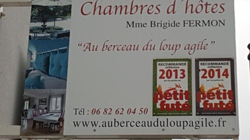 Au berceau du loup agile : Bed and Breakfast near Niederschaeffolsheim