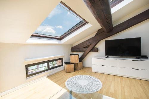 Studio Lumineux Côté Rhône : Apartment near Lyon 4e Arrondissement