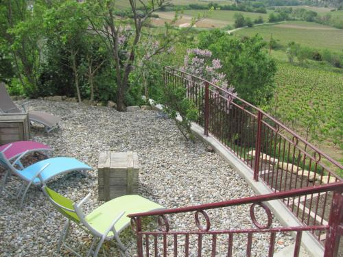 Au pied du Figuier : Bed and Breakfast near Ajac