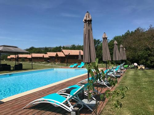 Domaine De Malcor : Guest accommodation near Curbans