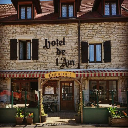 hotel de l'ain : Hotel near Perrigny