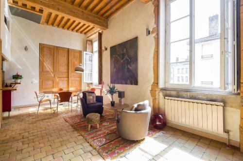 Loft coeur du Vieux Lyon : Apartment near Lyon 5e Arrondissement
