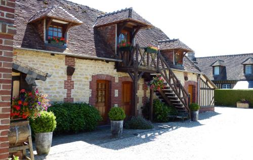 Le Pave d'Hotes : Bed and Breakfast near Saint-Léger-Dubosq