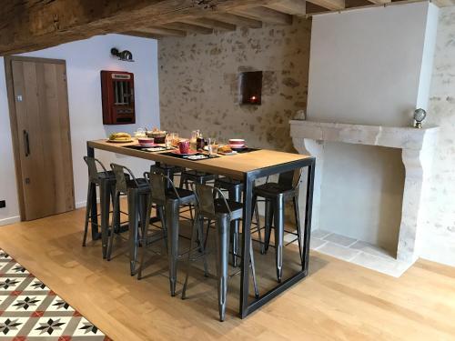 Chambres d'hôtes Saint Jean : Guest accommodation near Sérigny