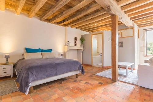 Moulin de Janlard : Guest accommodation near Saint-Laurent-l'Abbaye