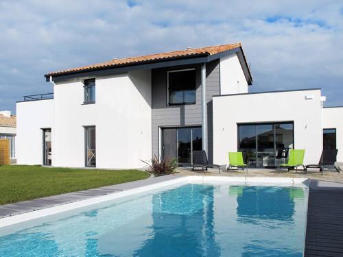 Ferienwohnung mit Pool St.Gilles-Croix-de-Vie 140S : Apartment near Givrand