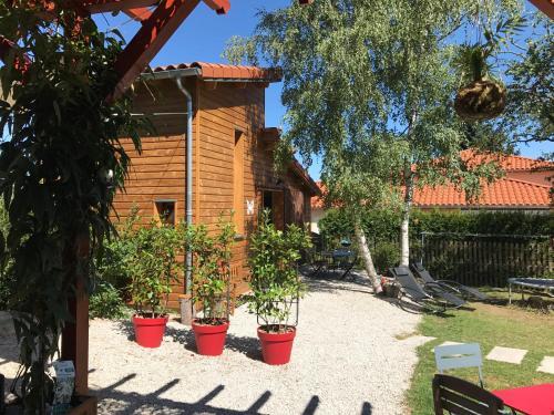 Ecogîte Les Papillons des Sucs : Guest accommodation near Saint-Julien-d'Ance