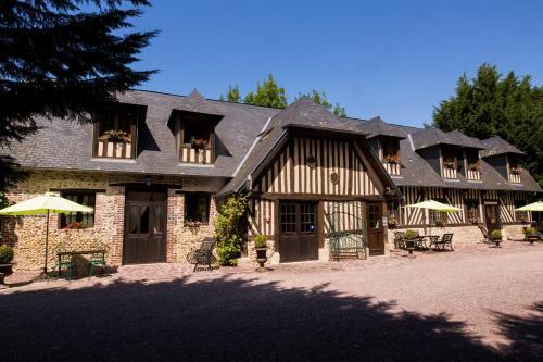 Gites - Domaine de Geffosse : Guest accommodation near Saint-Martin-aux-Chartrains