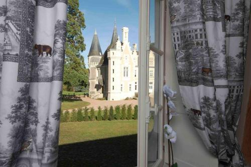 chateau de Beauvais gite : Guest accommodation near Saint-Martin-le-Beau