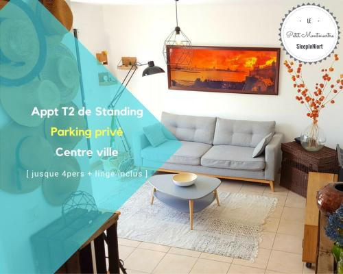 SleepInNiort - Le petit Montmartre : Apartment near Sciecq