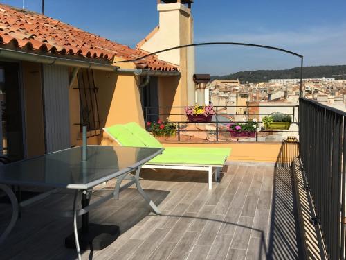 La Terrasse : Apartment near Aix-en-Provence