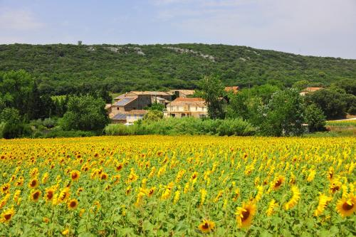 Le mas de Clary : Guest accommodation near Collorgues