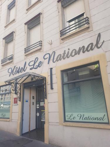 Hôtel Le National : Hotel near La Tour-en-Jarez