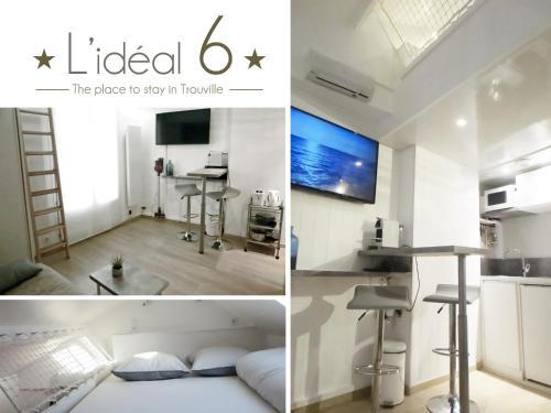 L'IDEAL 6 : Apartment near Trouville-sur-Mer