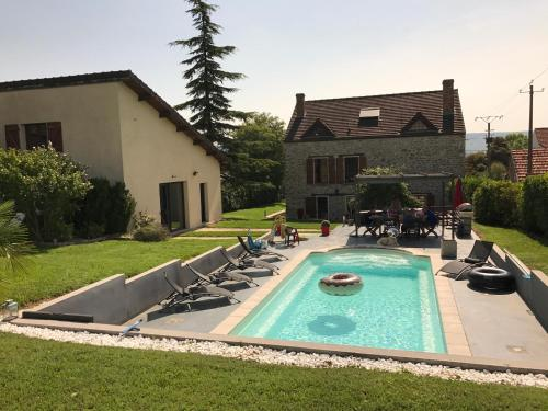 Gite des Orchidees : Guest accommodation near Nesles-la-Montagne