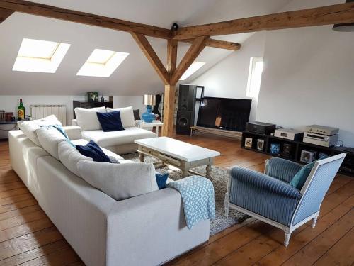 The White Loft : Apartment near Mulhouse